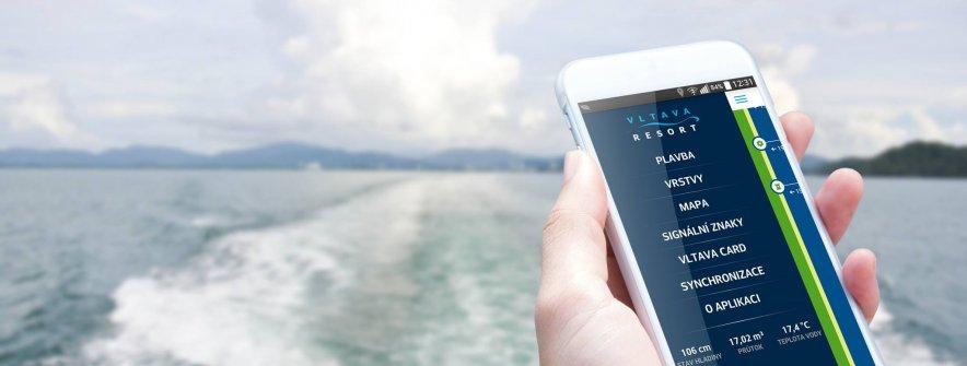 Mobilní aplikace Vltava Resort