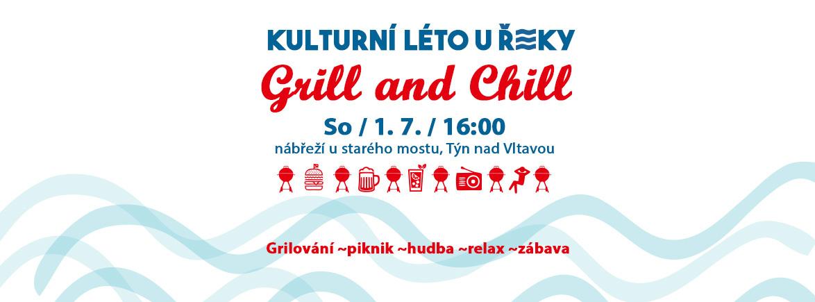 Kulturní léto u řeky // GRILL & CHILL