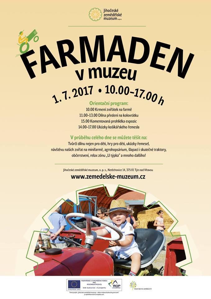FARMADEN v Jihočeském zemědělském muzeu