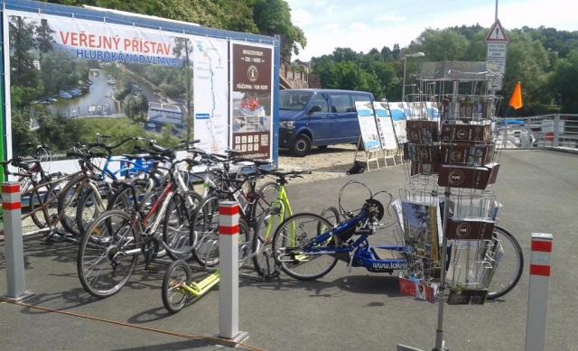 Sportovní přístav Hluboká nad Vltavou - infopoint Vltava