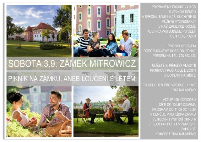 Piknik na zámku Mitrowicz