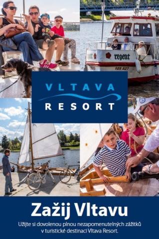 Leták Vltava Resort