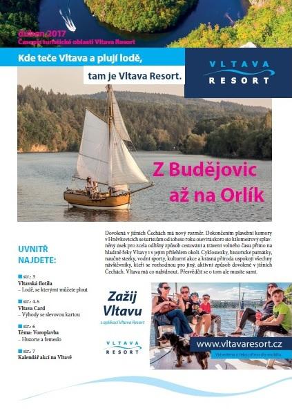 Třetí číslo novin VLTAVA RESORT