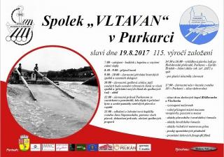 115. výročí Spolku Vltavan v Purkarci