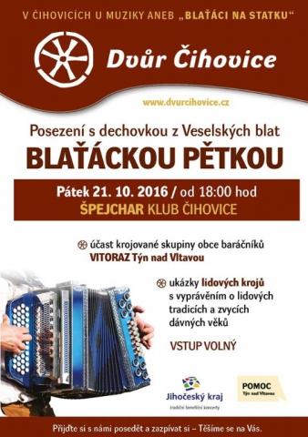 Blaťácká pětka ve Dvoře Čihovice
