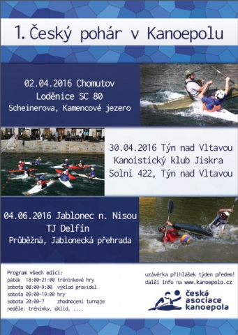 1. český pohár v Kanoepolu