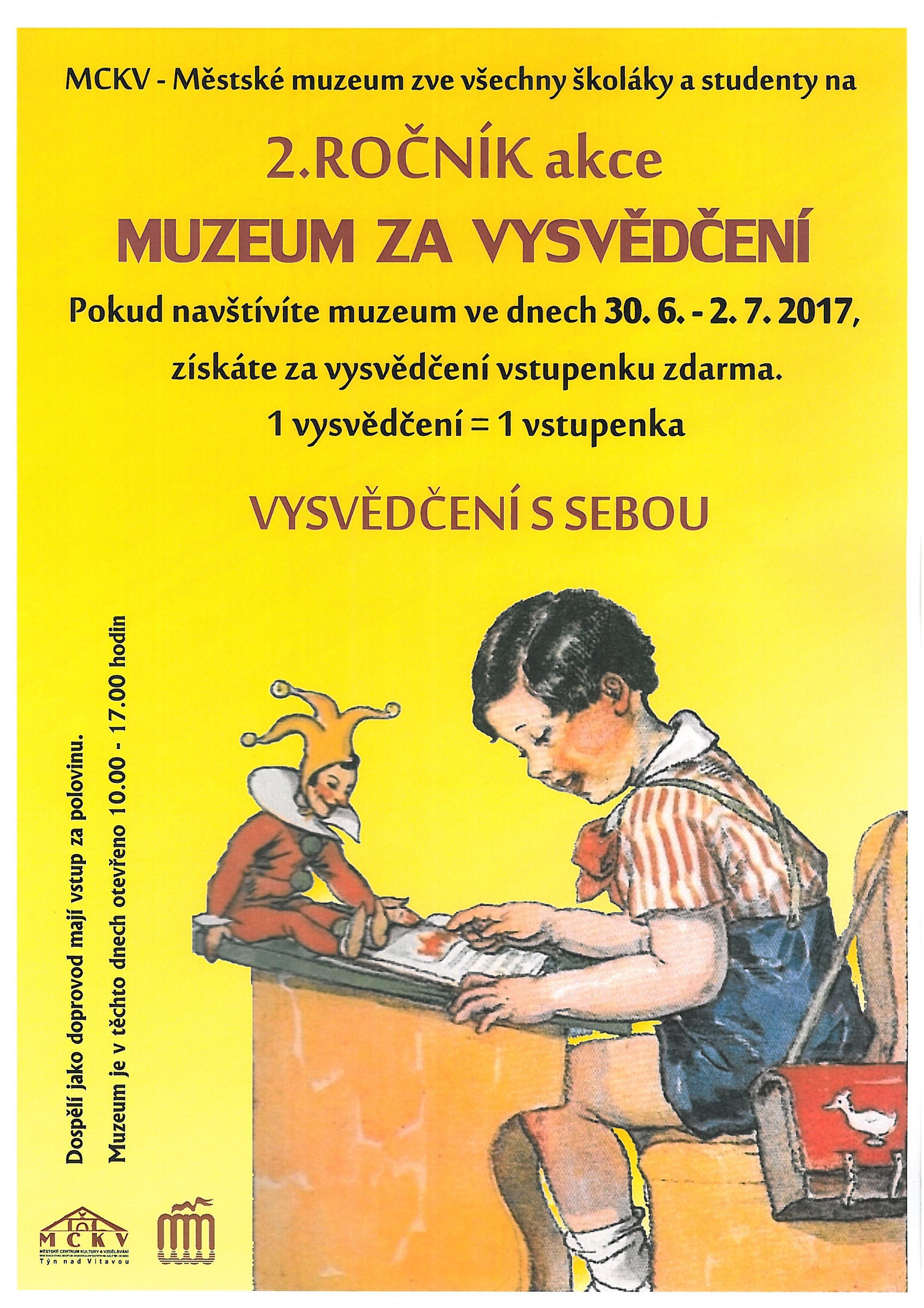 Muzeum za vysvědčení