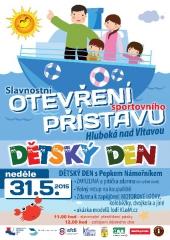 Otevření přístaviště Hluboká nad Vltavou
