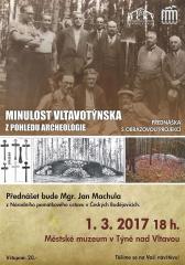 Minulost Vltavotýnska z pohledu archeologie