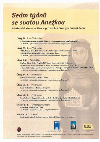 Sedm týdnů se sv. Anežkou