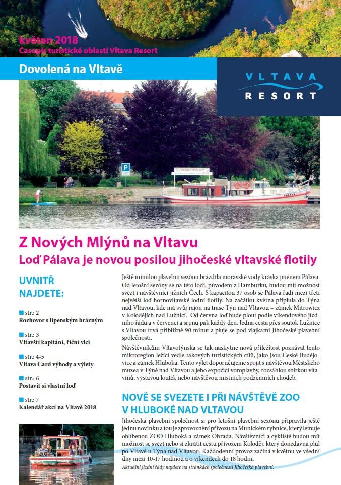 Čtvrté číslo novin VLTAVA RESORT