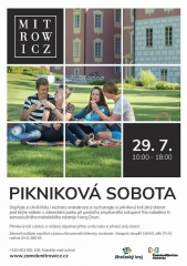 Pikniková sobota na zámku Mitrowicz